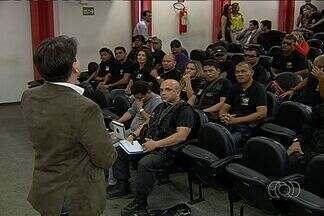 Força Nacional Judiciária ajudará na investigação de homicídios sem solução em Goiânia - Agentes chegaram nesta sexta-feira (6) à capital. Cronograma de trabalho será divulgado na segunda-feira (9).