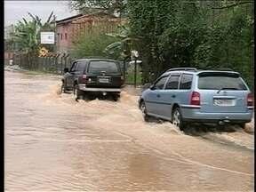 Chuvas no Vale do Itajaí preocupam moradores - Chuvas no Vale do Itajaí preocupam moradores