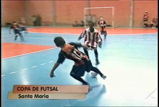 Copa Regional de Futsal - Jogos reunem 40 equipes de Santa Maria e região no Centro Desportivo Municipal até às 7 da noite