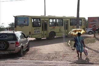 Ônibus da Vila Itamar voltaram a circular depois de dias parados por causa de assaltos - A polícia já tem informações sobre um homem e uma mulher que estariam agindo na região.
