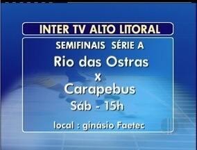 Confira os destaques da Copa Inter TV de Futsal - Competição movimenta o interior Fluminense