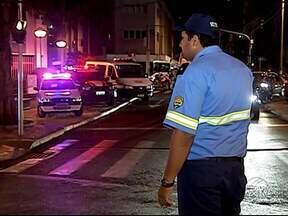 Blitz da Lei Seca faz marca Semana Nacional do Trânsito em Uberlândia - Ação ocorreu no Centro da cidade nesta sexta-feira (20). Balanço da operação deve ser divulgado na segunda-feira (23).