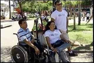 Entidades que defendem direitos dos deficiêntes promovem atividades em Montes Claros - Dia Nacional da Luda da Pessoa com Deficiência é comemorado neste sábado.