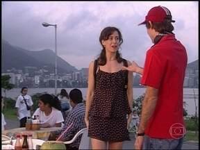 Reveja cena de Vida ao Vivo Show com Fernanda Torres e Pedro Cardoso - Episódio foi ao ar em 1998