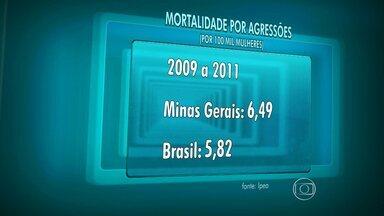 Lei Maria da Penha não ajuda na redução da violência doméstica em MG - Média de crimes no estado é maior do que média nacional