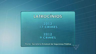 Secretaria de Segurança Pública divulgou os números da violência na Baixada Santista - Os dados são de janeiro e agosto desse ano