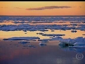 Relatório da ONU mostra que a temperatura da Terra continua aumentando - Conclusão é do Painel Intergovernamental de Mudança Climática, apresentado em Estocolmo, na Suécia. A previsão é que a temperatura aumente 408ºC até 2011.