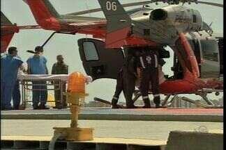 Prefeitura de Fortaleza inaugura o heliponto do Hospital IJF - Construção do equipamento demorou cinco anos para ser concluída.