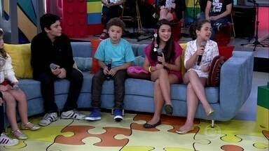 Crianças contam o que querem ser quando crescerem - Atores mirins comentam perguntas que sempre ouvem dos adultos