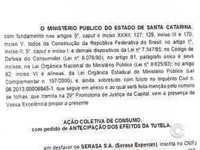 Liminar proíbe uso de 'concentre scoring' da Serasa em Santa Catarina - Concentre Scoring atribui pontuação para auxiliar na análise de crédito.