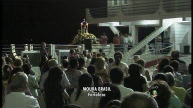 Católicos celebram o Dia de Santa Edwiges, a santa dos pobres e endividados - No Ceará, igrejas ficam lotadas para celebração de missas em homenagem à santa.