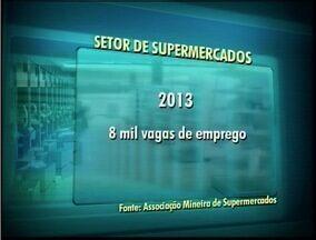 Investimento no setor de supermercado reflete na oferta de emprego no Vale do Aço - Setor espera oferecer, somente em Minas Gerais, 8 mil novas vagas de emprego.