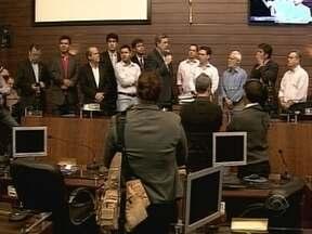 Plano Diretor é entregue à Câmara de Vereadores de Florianópolis - Plano Diretor é entregue à Câmara de Vereadores de Florianópolis