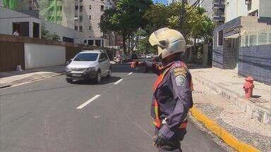 Trânsito sofre mudanças na Zona Sul do Recife - A partir deste sábado, circulação de veículos passa por alteração na Rua Setúbal.