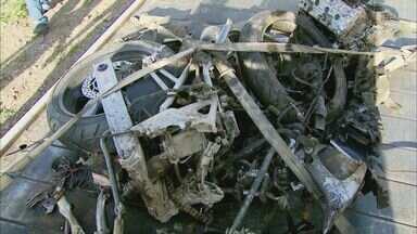 Acidente na MG-444 em Capetinga (MG) deixa 3 mortos - Acidente na MG-444 em Capetinga (MG) deixa 3 mortos