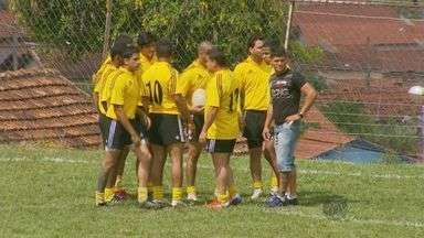 Atletas disputam primeira fase de campeonato de rugby em Elói Mendes (MG) - Atletas disputam primeira fase de campeonato de rugby em Elói Mendes (MG)