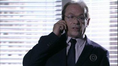 Herbert desmarca encontro com Gina - Ordália lamenta, mas consola a filha