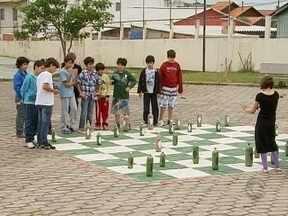 Escola de Florianópolis é exemplo de sustentabilidade - Escola de Florianópolis é exemplo de sustentabilidade