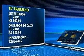 Confira as vagas de emprego em Goiânia - Há vagas para entregador, com salário de R$ 900, e operador de caixa, R$ 837.