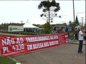 Petrobrás faz reunião com sindicato grevista - Paralisação dos petroleiros pode ser encerrada hoje à tarde.