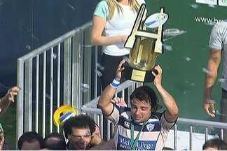 SPAC é campeão brasileiro de rúgbi, esporte que cresce no país - Final do Campeonato Brasileiro reuniu 5.000 pessoas na Arena Barueri
