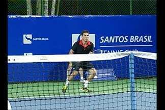 Belém recebe Santos Brasil Tennis Cup - Torneio está sendo disputado na Assembleia Paraense e vai até sábado.