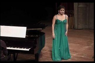 Ex-moradora do Crato ganha destaque internacional na música lírica - Jovem cantora passou a infância na cidade do Crato.