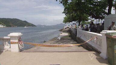 Corpo de tripulante polonês que caiu de navio é encontrado - Tripulante caiu de um navio atracado no Porto de Santos. Acidente ocorreu na última sexta-feira (18).