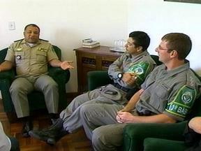 Sede da Polícia Ambiental em Rio Grande, RS, será inaugurada no próximo ano - Integrantes da polícia participam de reunião com o prefeito do município.