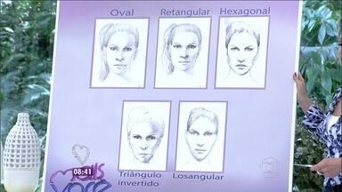 Visagismo: Confira os rostos mais comuns entre as brasileiras - Técnica define a imagem pessoal a partir dos traços do rosto, da cor do cabelo e até da maquiagem