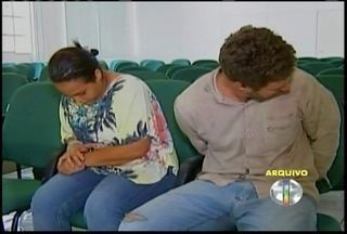 Mulher é condenada por planejar morte de ex-marido em Ipatinga - Mulher conhecida como 'viúva negra' foi condenada a 15 anos de prisão, e amante pegou mesma pena.