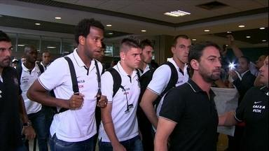 Pato pede desculpas à torcida. Time volta do Sul pressionado pela torcida - Time agora tenta se reerguer no Campeonato Brasileiro