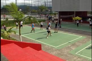 Várias atividades esportivas ocorrem neste sábado (26) em Mogi das Cruzes - O Esporte Cidadania, uma parceria Sesi/Globo com o apoio da TV Diário é realizado no distrito de Brás Cubas.