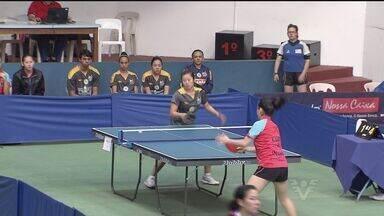 Tênis de mesa de Santos, SP conquista duas medalhas - Medalhas foram conquistadas nos Jogos Abertos do Interior, em Mogi das Cruzes.