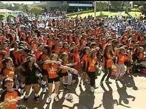 Sesi de Sobradinho recebe o evento 'Esporte e Cidadania' - O projeto da Rede Globo em parceria com o Sesi está sendo realizado em mais de 40 cidades do país. No DF, as ações para incentivar a qualidade de vida são no Sesi Sobradinho.