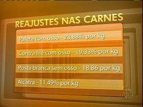 Sobe o preço das carnes em Curitiba - Paleta com osso teve aumento de mais de 23%.
