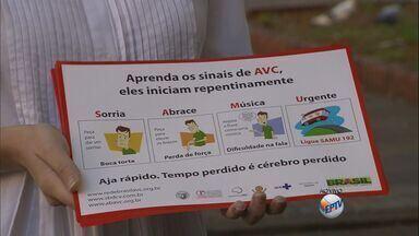 HC de Ribeirão faz campanha de prevenção contra o AVC - Programação tem como objetivo alertar a população sobre os riscos do acidente vascular cerebral.