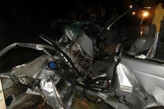 Dois acidentes são registrados na BR-101, no extremo sul da Bahia - Os dois casos foram próximos ao povoado de Montinho, perto da cidade de Itamaraju.