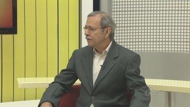 Embrapa Amapá tem novo diretor - A EMBRAPA AMAPÁ TEM NOVO DIRETOR. E ELE É O NOSSO ENTREVISTADO HOJE NO BOM DIA AMAPÁ.
