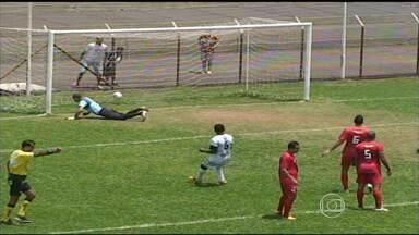 Montes Claros e Associação Uberlandense assumem liderança na 3ª divisão do Mineiro - Em casa, o Montes Claros venceu o CAP Uberlândia com gol de Vinícius e tem quatro pontos em dois jogos. Com a mesma pontuação e igual no critério de desempate está a Associação Uberlandense. Time venceu o Funorte com gol de Diogo.