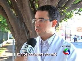 Dia do combate ao AVC tem atividades em Cuiabá - O Dia Mundial do combate ao AVC tem atividades em Cuiabá.