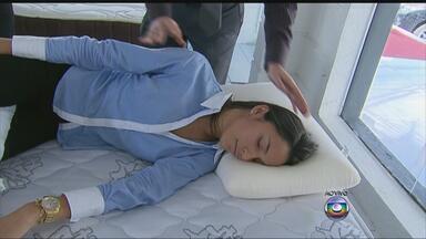 Ortopedista ensina a escolher o colchão adequado para o corpo - Saiba a diferença entre o colchão de espuma e o de mola.