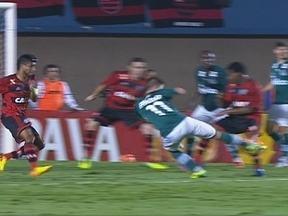 Paulo Victor! Sacha recebe na área e chuta, mas goleiro salva aos 32 do 1º tempo - Paulo Victor! Sacha recebe na área e chuta, mas goleiro salva aos 32 do 1º tempo.