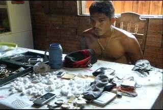 Ex-presidiário é preso com drogas em Santarém - Com ele, um adolescente foi apreendido.