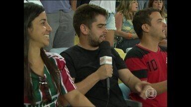 Chico Torcedor convida público carioca para assistir ao Fla-Flu - Seis fãs de cada clube aceitam proposta e vão ao clássico no Maracanã.