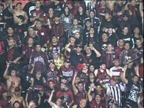 Atlético vence Internacional e assume a vice-liderança - Ontem, na Vila Capanema o rubro-negro derrotou o Inter por um a zero com mais um gol de Delattorre.