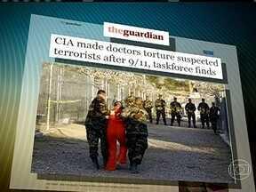 Relatório diz que CIA fez médicos torturarem suspeitos de terrorismo - Documento diz que médicos e psicólogos aplicaram técnicas desumanas e degradantes de tortura para arrancar informações dos suspeitos detidos em Guantánamo, em Cuba, e em prisões no Afeganistão e Iraque.