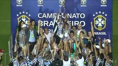 Botafogo-PB fatura série D e é o primeiro campeão brasileiro no ano - Equipe vence o Juventude por 2 a 0 e garante vaga na terceira divisão.