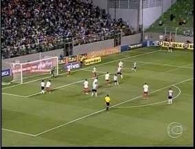 Esporte: Atlético-MG goleia o Náutico no estádio Independência - O resultado da partida rebaixou o time pernambucano.