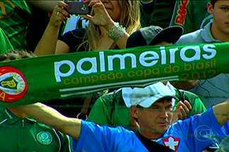 Palmeiras empata com o Paraná e segue rumo ao título da Série B - Verdão já tem o acesso garantido e agora tenta confirmar o título